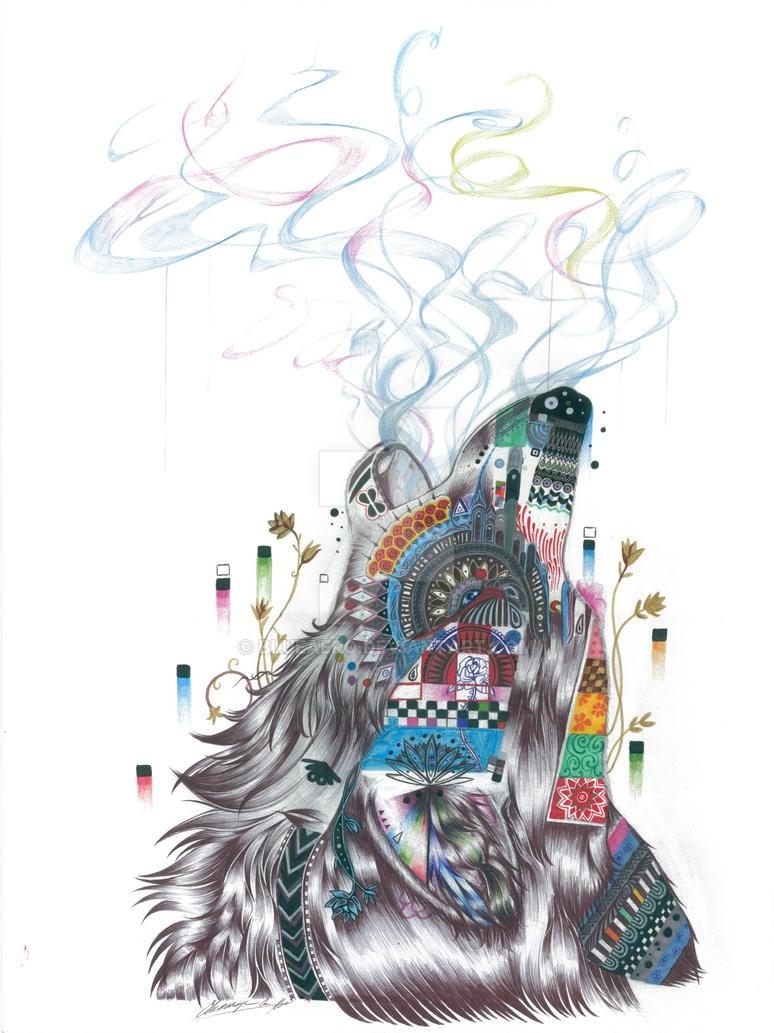 Howling Smoke by BlueAero