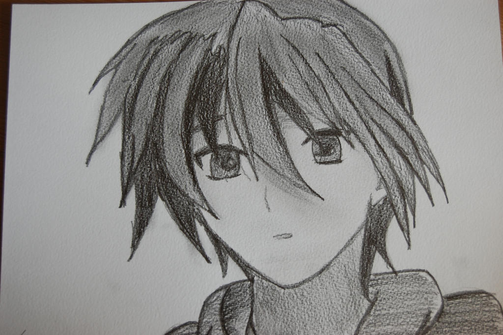Okazaki Tomoya by Kappamiye