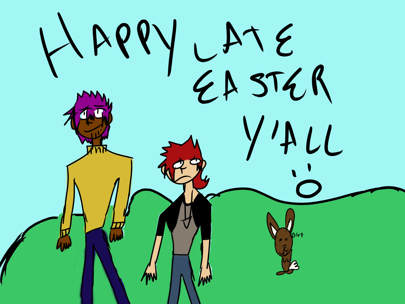 Late easter lmao by ComicCreatorgamer123