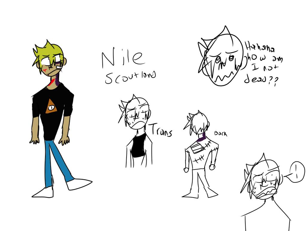 Oc ref sheet Nile by ComicCreatorgamer123