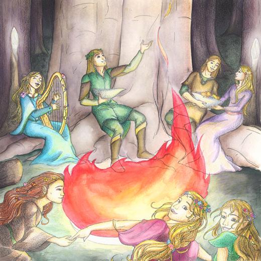 Merry Elves of Mirkwood by RiverCreek