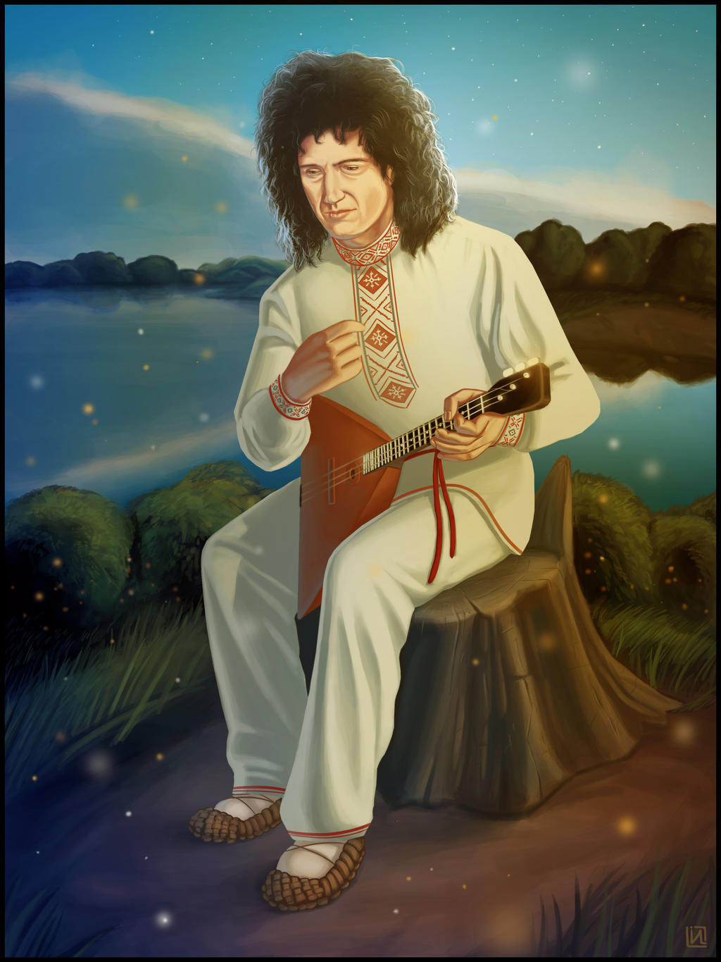 Brian May by IgorLevchuk