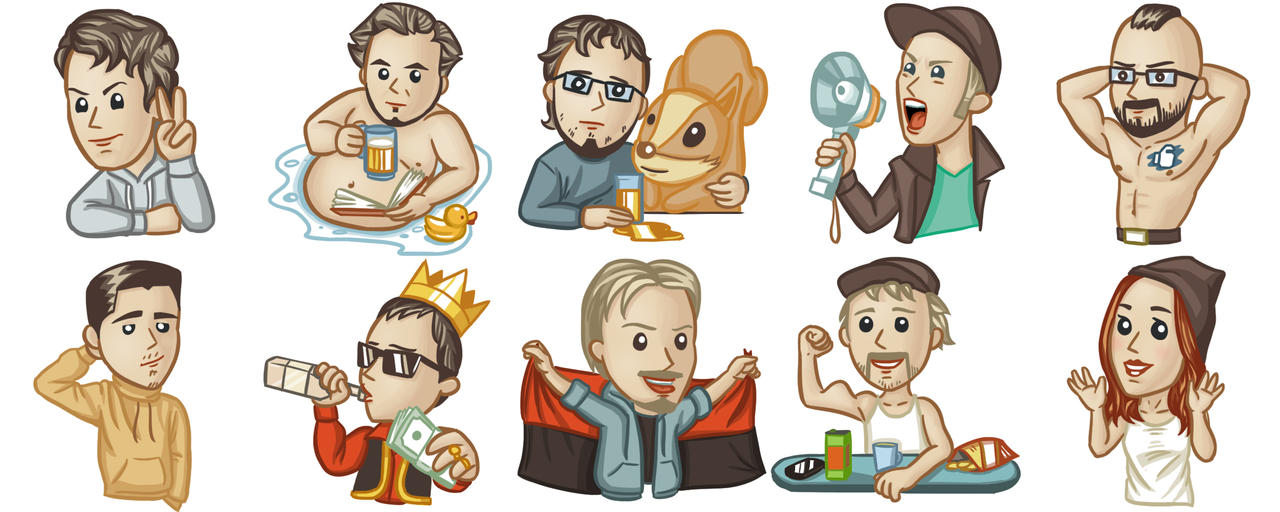 Stickers by IgorLevchuk
