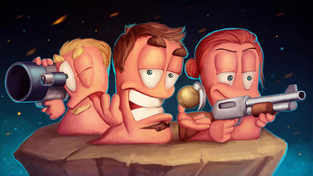 Crazy Collection: Worms Armageddon by IgorLevchuk