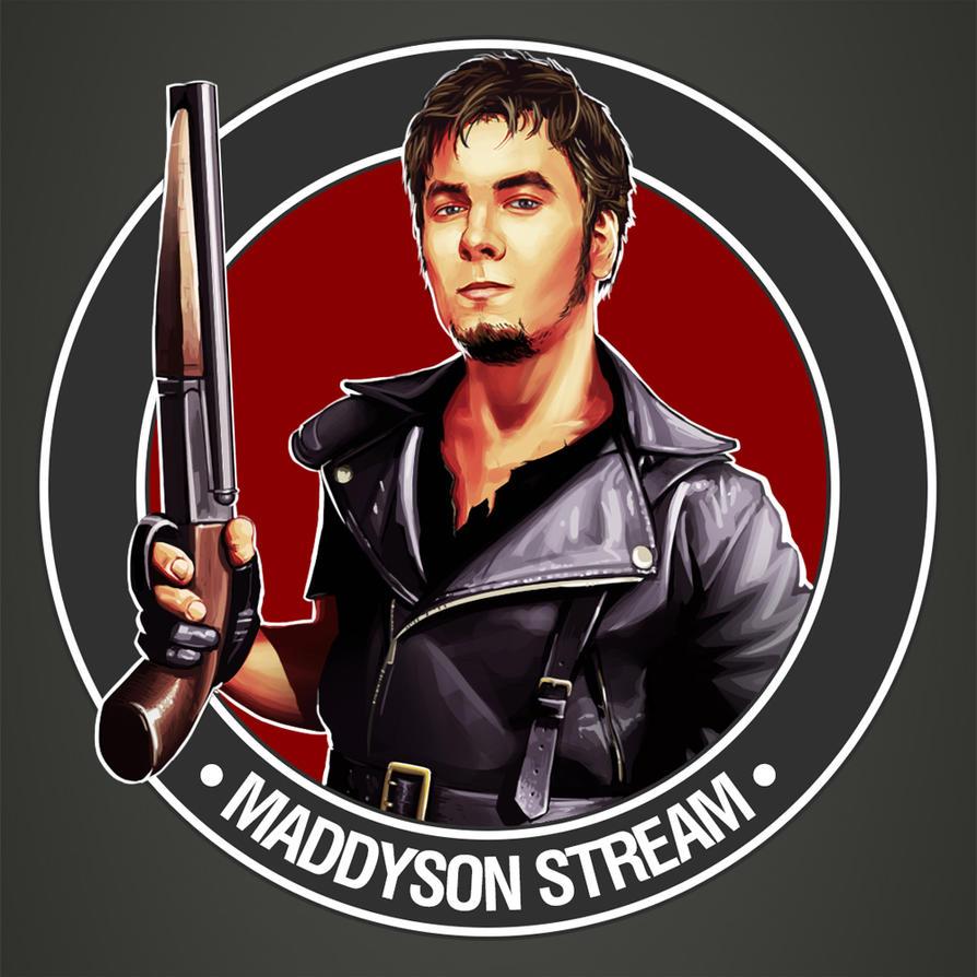 Maddyson Twitch logo by IgorLevchuk