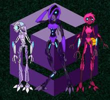 The Gamecube Triplets by Xelku9