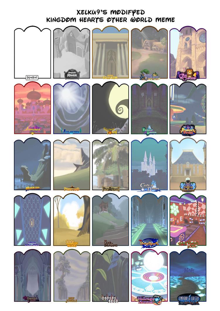 Kingdom Hearts Other World Meme Version3 By Xelku9 On