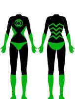 Grox9909's Green Lantern suit by Xelku9