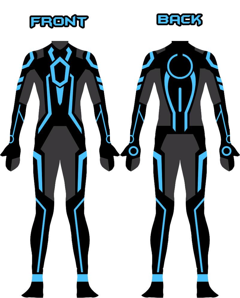 My new Tron suit design by Xelku9 ...  sc 1 st  DeviantArt & My new Tron suit design by Xelku9 on DeviantArt