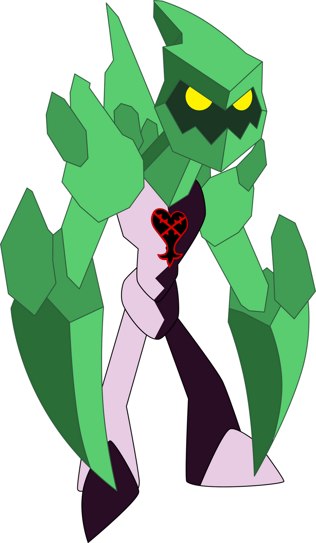 Heartless Diamondhead by Xelku9