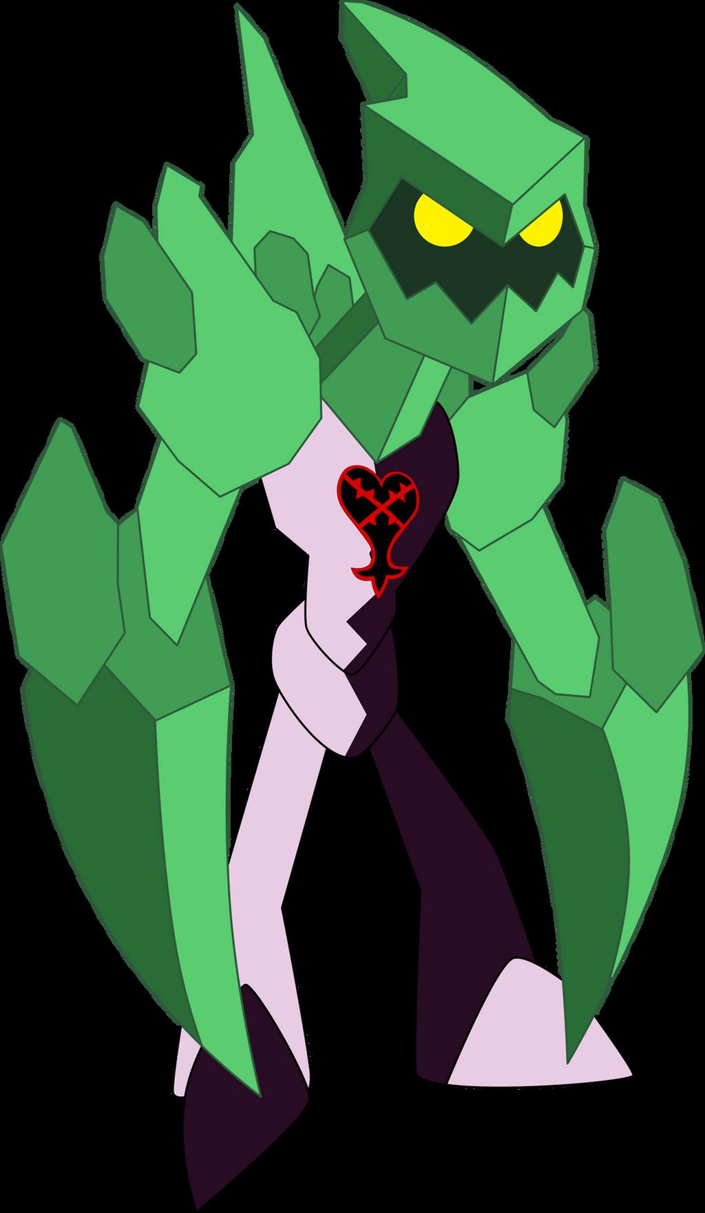 Heartless Diamondhead by Xelku9