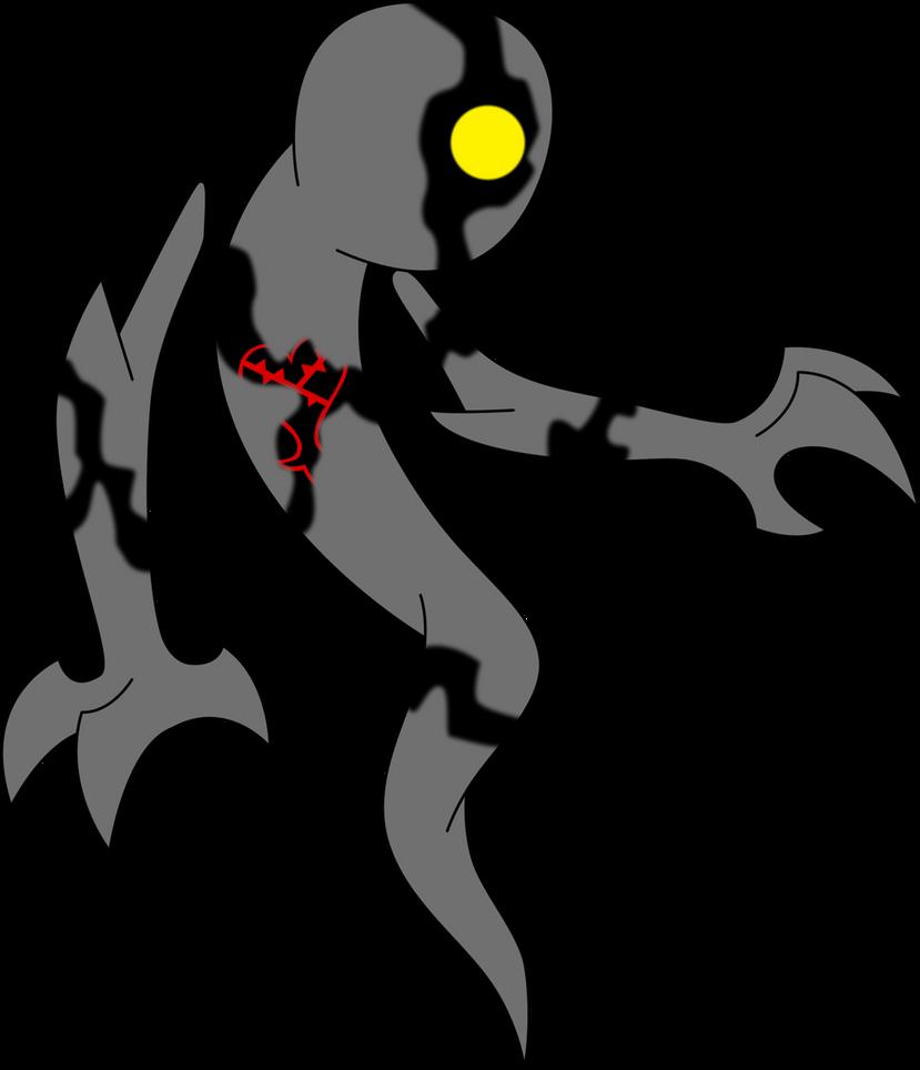 Heartless Ghostfreak by Xelku9