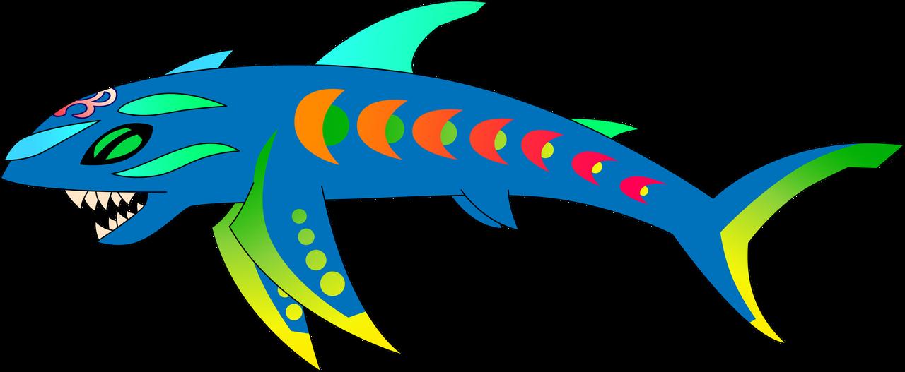 Dream Eater :Spirit Sharkopath: by Xelku9