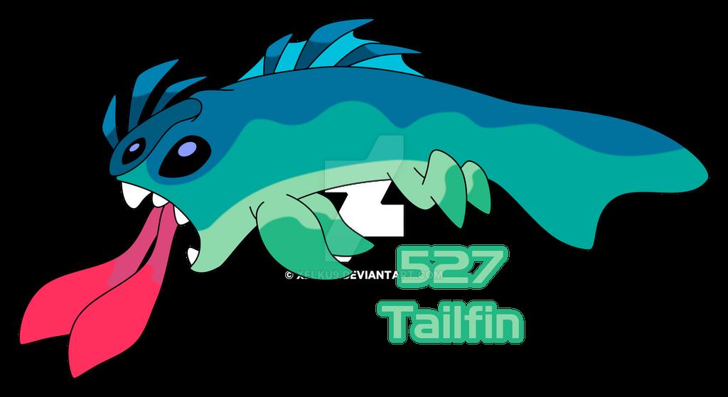 experiment 527 tailfin by xelku9 on deviantart