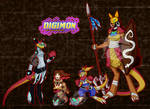 Digimon OC :GG and the Marsupial: