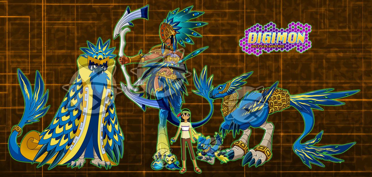 Digimon OC :Shiko and ...