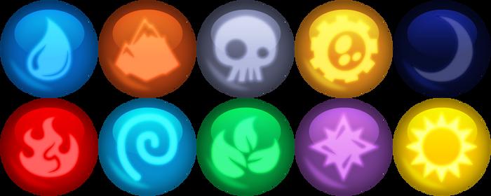 Skylanders Elemental gems