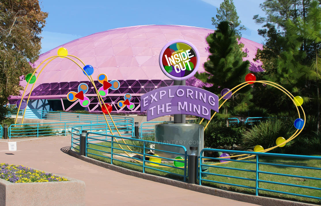 Epcot: Exploring the Mind with Inside Out by Xelku9