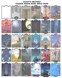 Kingdom Hearts Other World Meme :version4: by Xelku9