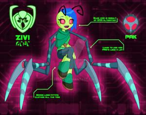 IZ OC: Council Member Zivi of the Ziera Order