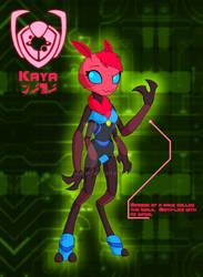 IZ OC: Kaya the Iwolk