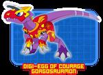 Digimon OC: Virtramon Digi-Armor Courage