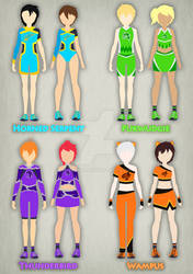 Ilvermorny Cheerleader Uniforms Design