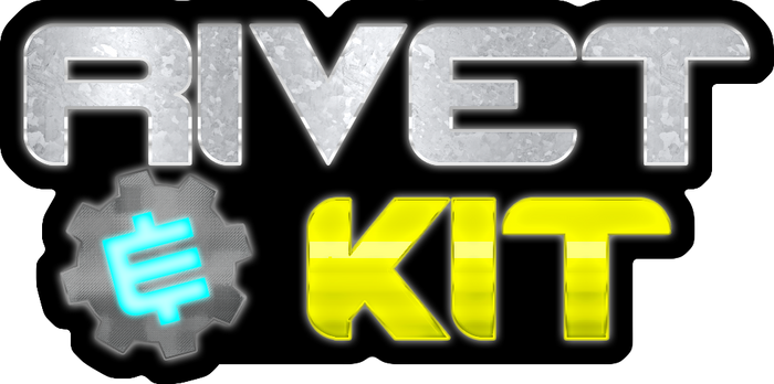 Ratchet and Clank: Rivet and Kit LOGO design