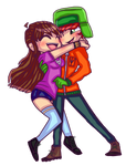 Hugging Love by Eliza-Cute-SP