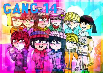 [RQ] Gang Fourteen by Eliza-Cute-SP