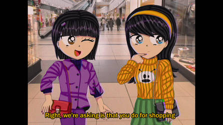 Tammy and Leslie: Anime 90s styles by Eliza-Cute-SP