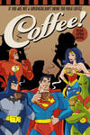 Superheroes and the coffee