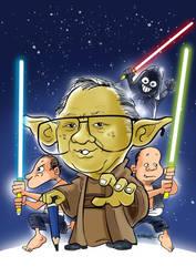 Dwi Koendoro as Master Yoda