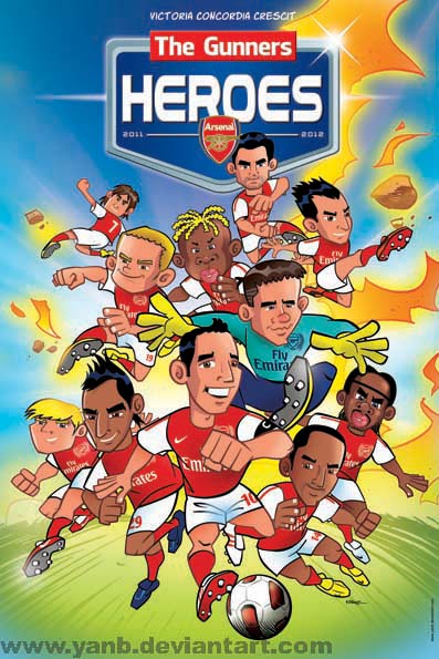 Arsenal's Heroes Poster