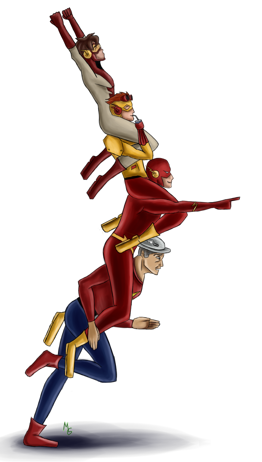 Flash family by Green-Nightingale