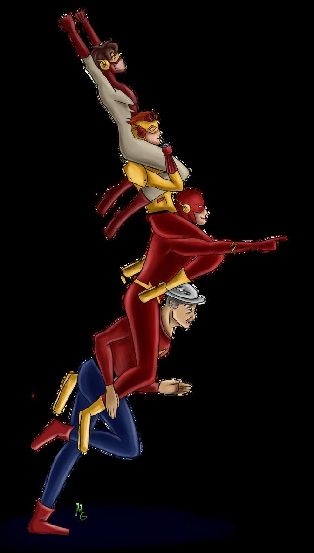 flash family by greennightingale on deviantart