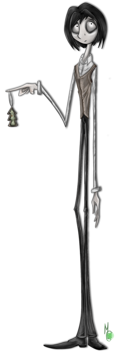 Jack Skellington humanization by Green-Nightingale