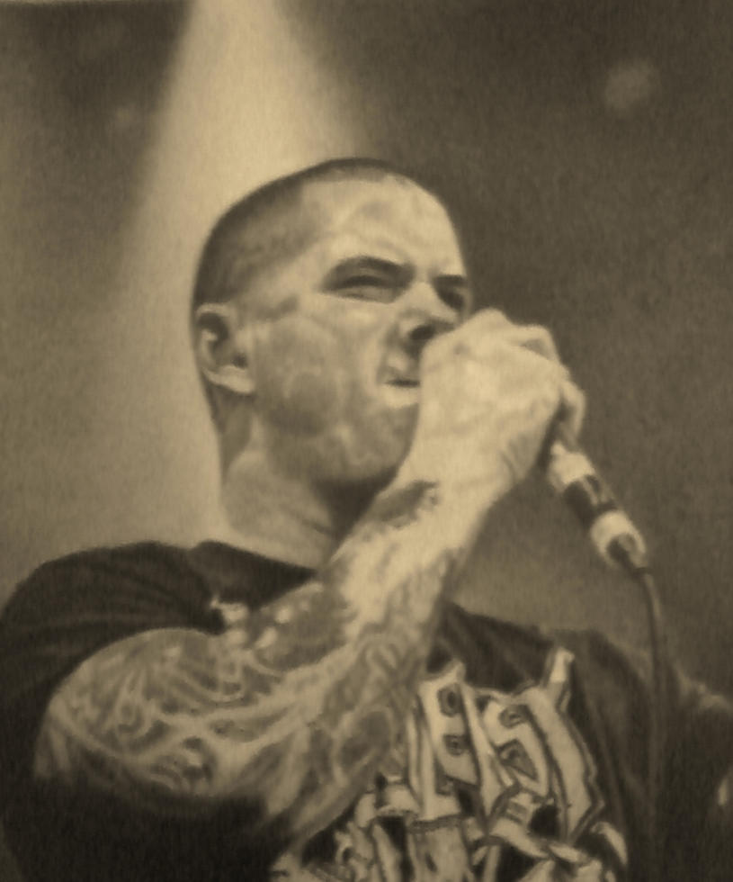 Phil Anselmo detail by Laveygirl