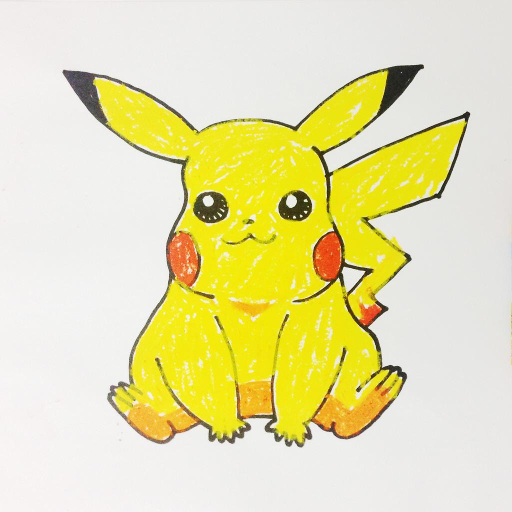 How To Draw Pikachu Pokemon Step By Step By Allforkidschannel On Deviantart