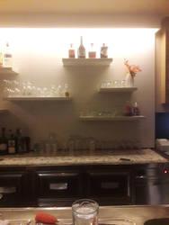 night at empty bar Trully