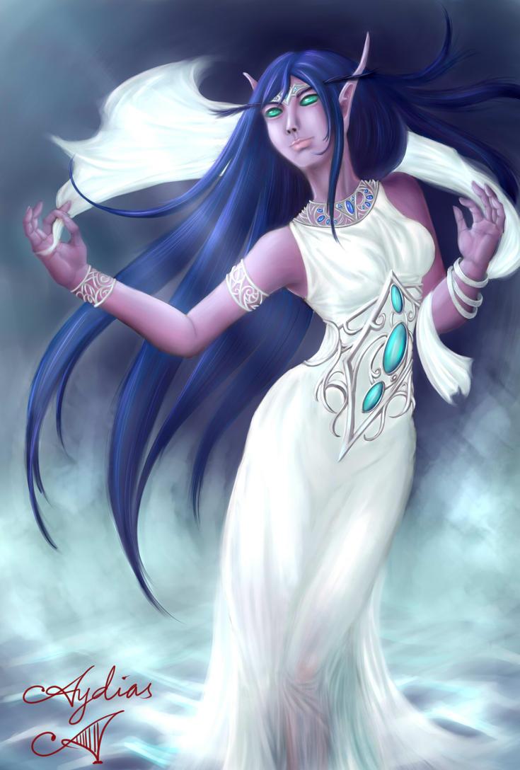 Priestess Shadowsong by Aydias