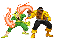Power Man And Ironfist by alan-san