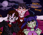 Happy halloween by Misticdaisy