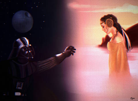 Darth Vader and Padme