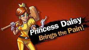 Princess Daisy for Smash Bros!