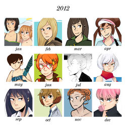 2012 summary of art by YuanFang