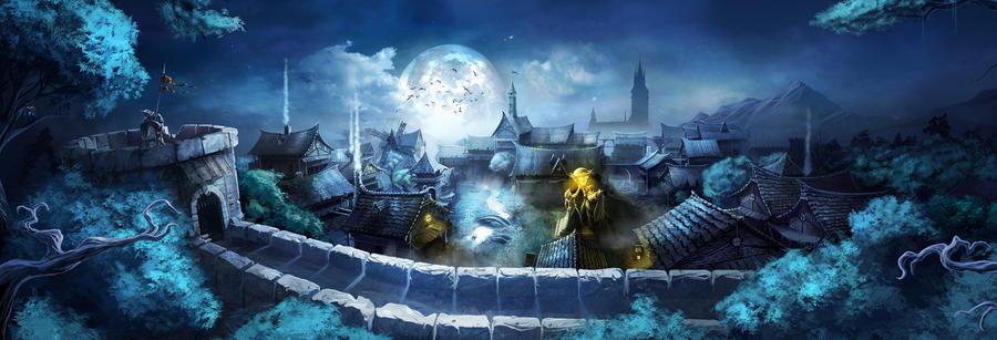 Sleeping Kingdom by artofjokinen