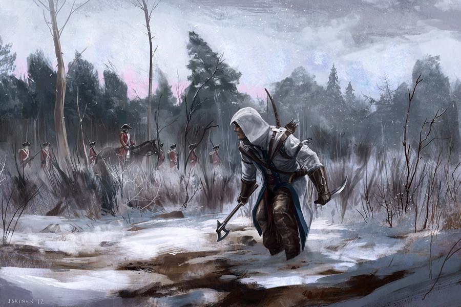 Connor by artofjokinen