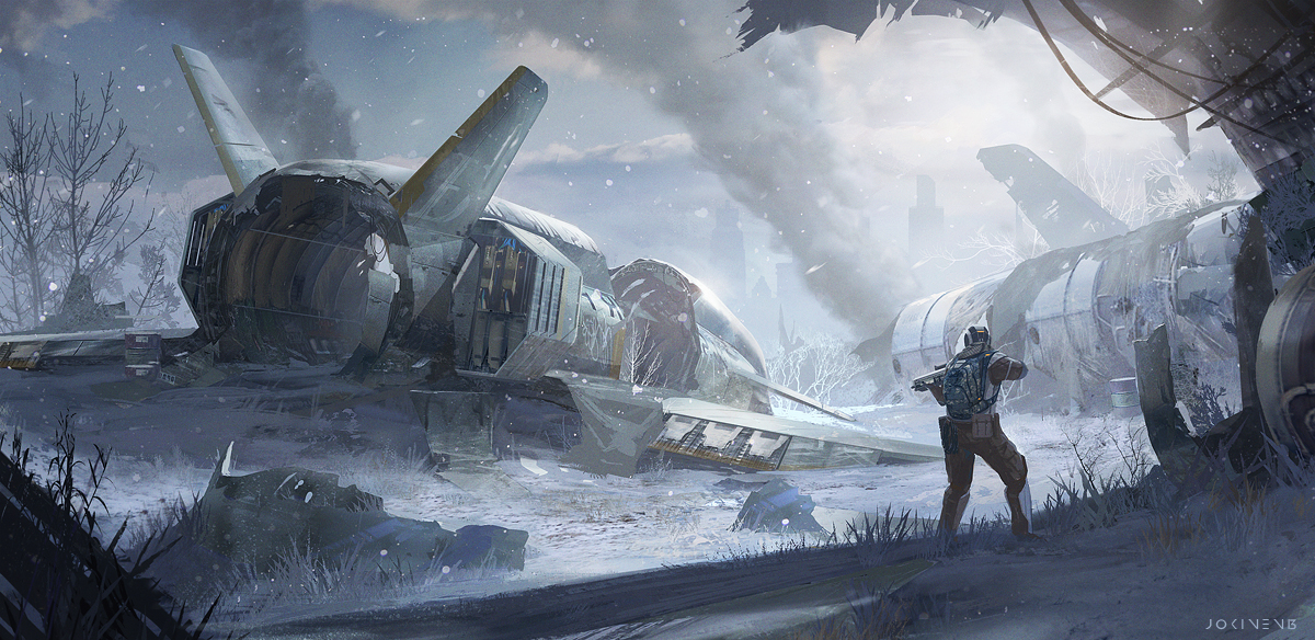 Winter Patrol by artofjokinen