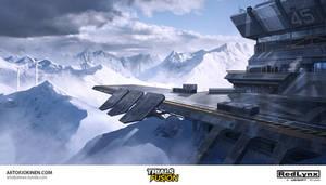 Trials Fusion - Arctic concept art